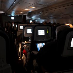 Red eye flight tips